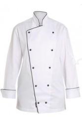 Lacivert Biyeli Aşçı Kıyafeti