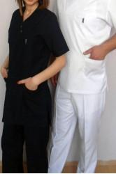 Beyaz Zarf Yaka Doktor Forması