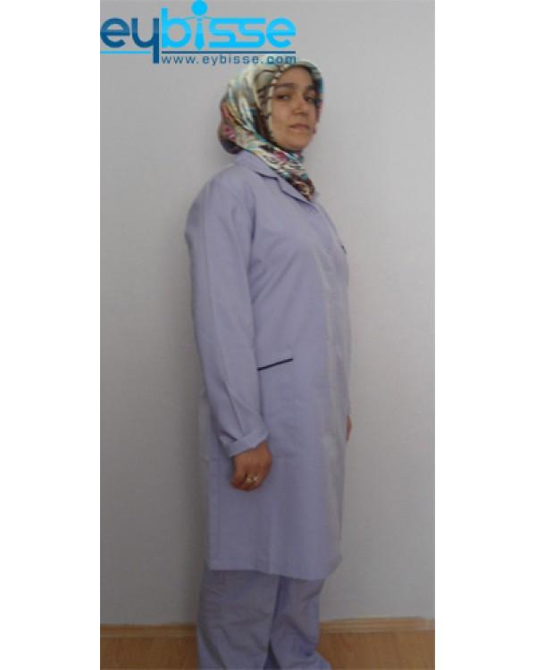 Lila Personel Kıyafeti
