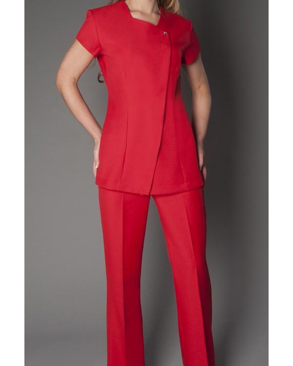 Yeni Kırmızı Hemşire Forması