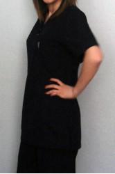 Lacivet Zarf Yaka Hemşire Forma Takımı