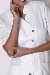 Hakim Yaka Çapraz Model Hemşire Elbisesi